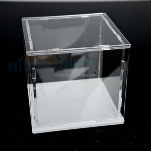 Small Size Customeized Caton Comic Con Toy Car/Lego Acrylic Minifigure Display Case