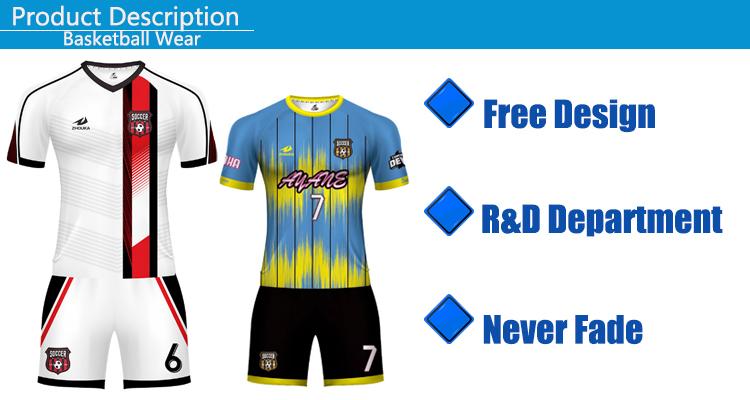 Ontdek Custom Jersey Winkel Voetbalshirt Maker Uniformen Voetbal Jersey Kits Sublimatie Voetbal Slijtage