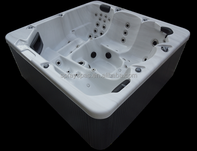 New design 70 jets 5 person massage spa party hot tub