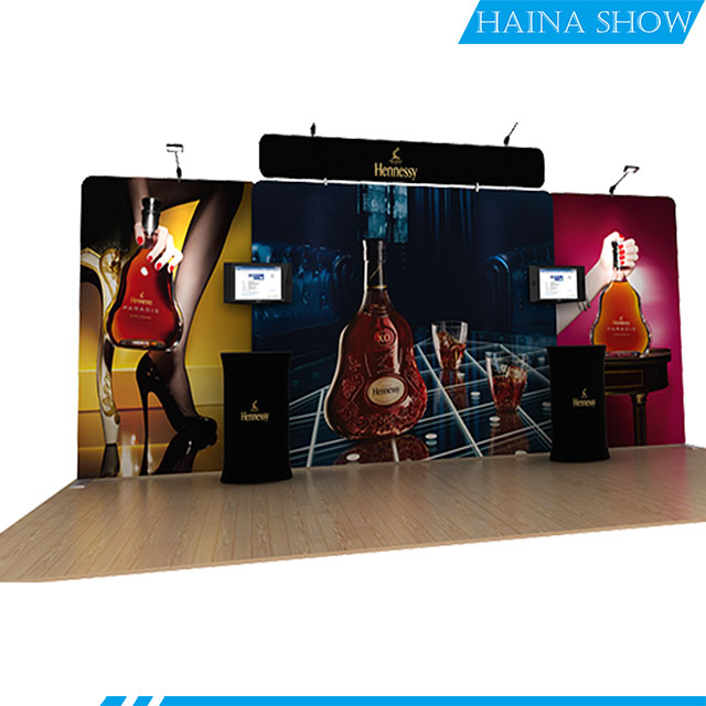 Fashionable aluminum advertising display modular booth exhibition for trade <strong>show</strong>