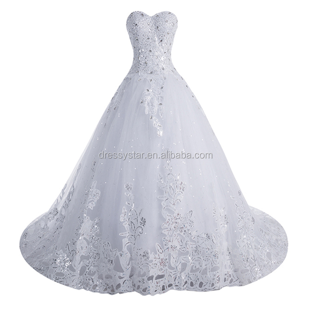 Cathedral/ Royal Train Wedding Dresses Wholesale, Wedding Dress ...