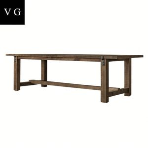 Hot sale Chinese antique reproduction furniture dining table,restaurant wooden dining table