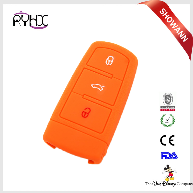 start the magotan CC silicone car key cover and car keys package set of shell for VW car keys