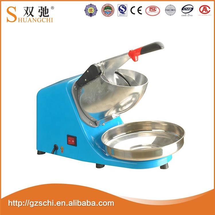 China Factory OEM colorful ice crushers smoothie ice shaver machine