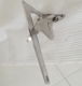 316 stainless steel boat claw anchor bruce style anchor 50kg 80kg