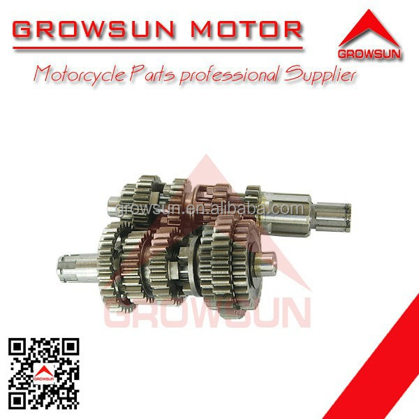 125cc motorcycle transmission parts of Main counter shaft