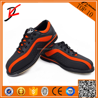 New professional sport of bowling shoes wet product right paragraphs bowling shoes male female Orange, black, green,