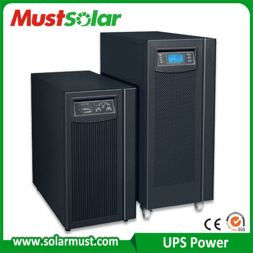 6KVA-20KVA with 0.8 output and DC192V No-Breaks Power Backup Online UPS power supply