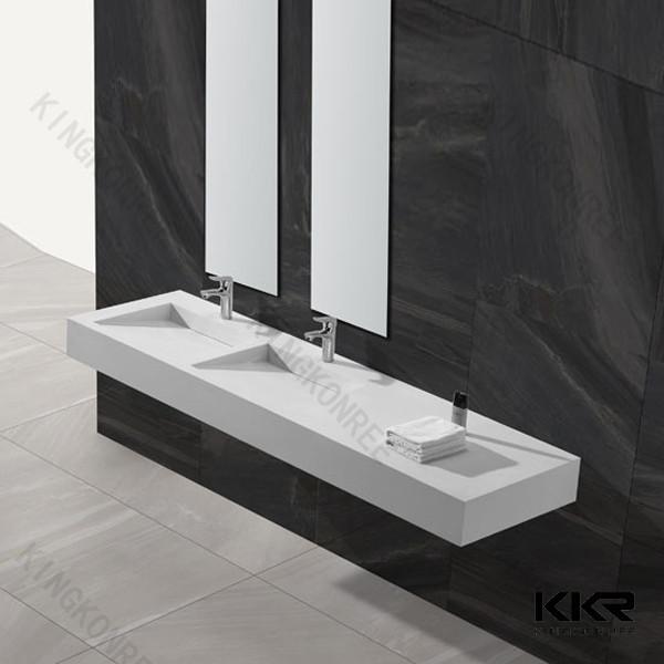 Angepasste Grosse Stein Bad Mit Zwei Waschbecken Wasserhahne Bad