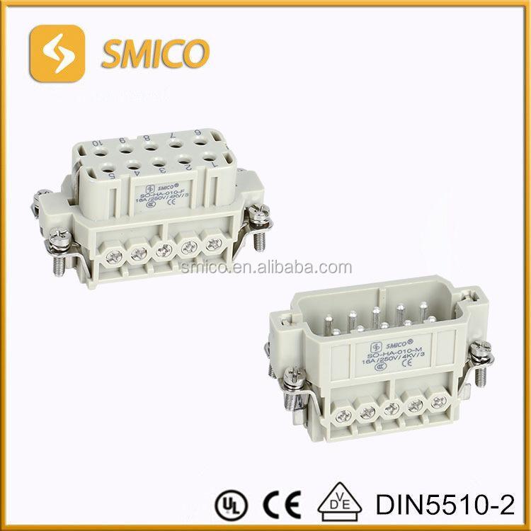 Hdc Ha 10ms 1650610000,Hdc Ha 10 Fs 1650620000,Ha-010,10p+e Heavy Duty  Connector Cdcf 10,Cdcm 10 - Buy Heavy Duty Connector,10pin  Connector,Industrial