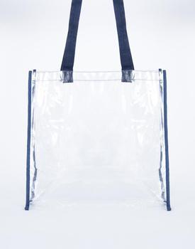 Clear Transpa Pvc Beach Bag