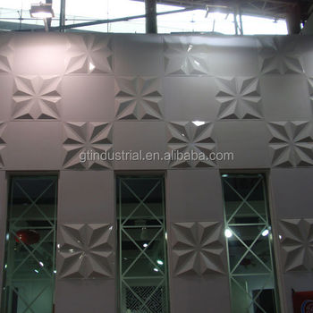 Very Popular 3d Exterior Plastic Wall Panels, Rich In Colors Resin Exterior  Wall Decorative Panel