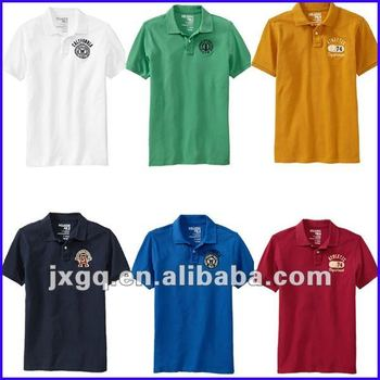 Top Sale Embroidery Pique Knitted 100 Cotton Polo Shirt Design Maker
