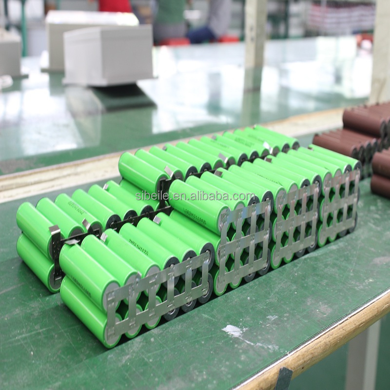 Điện 18650 lithium ion battery pack 36 V 10S2P 10S3P 7S2P với BMS