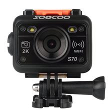 Soocoo Newest product soocoo s70 with remote control 2k 16MP waterproof 60 meters NTK9660 chip S70 Soocoo wifi camera