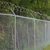 8ft galvanized chain link fence for sales