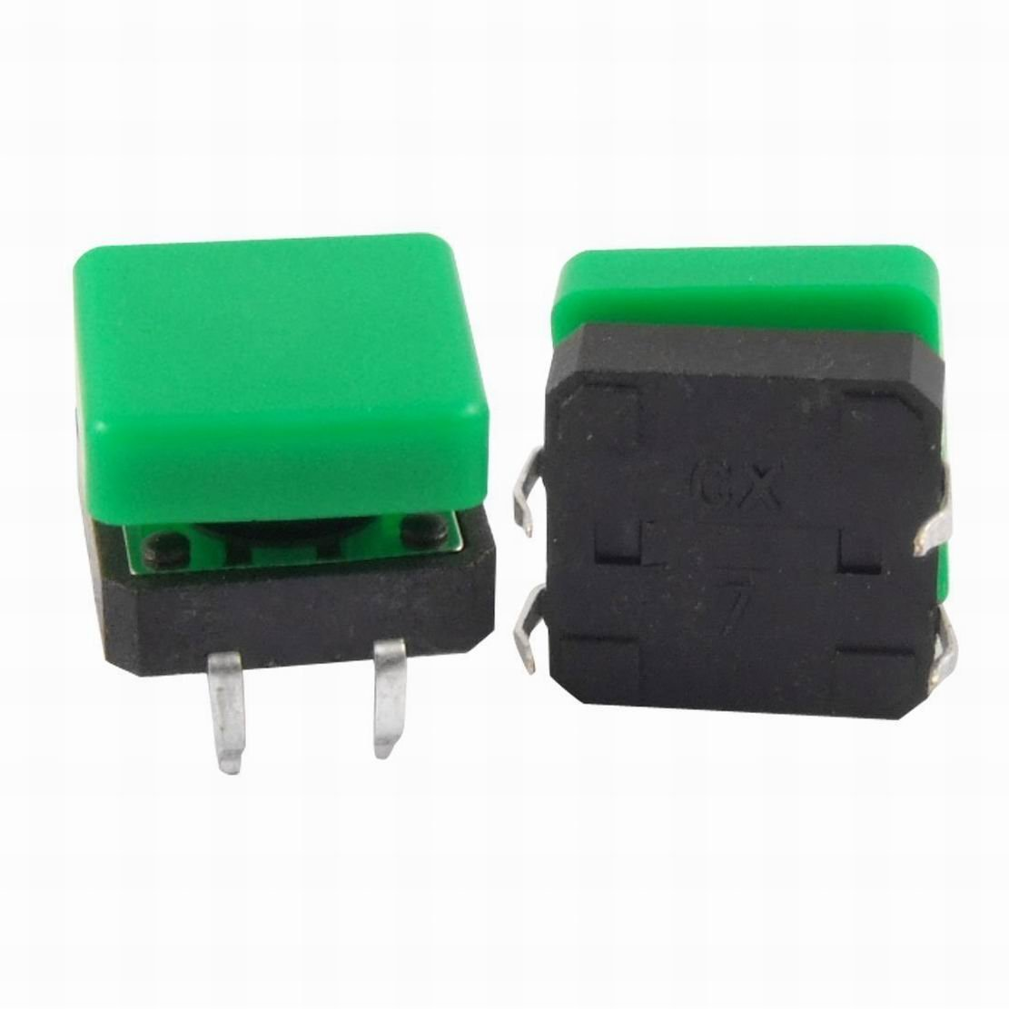 Ucland 2-Pin DIP Momentary Tactile Tact Push Button Switch 7 x 7 x 8mm