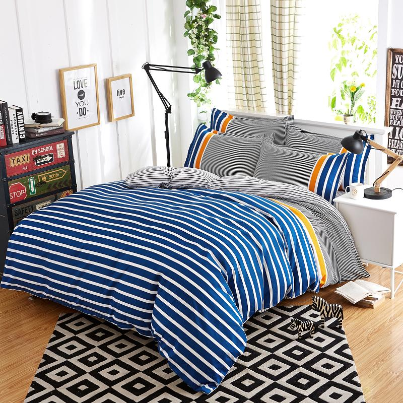 Modern Design Polyester Printed comforter luxury home textile Cotton bed sheet