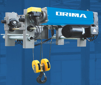 5 ton dual speed electric wire rope hoist