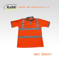 cheap custom printed high visibility polo shirts