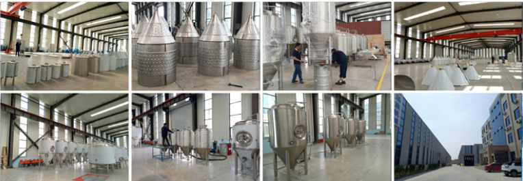 Factory Sale 200L Stainless steel conical beer fermenter tank mini brewery equipment