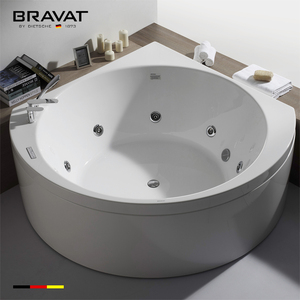 Glossy white finish 100-Percent acrylic construction hydrotherapy spa jet B25828W-2