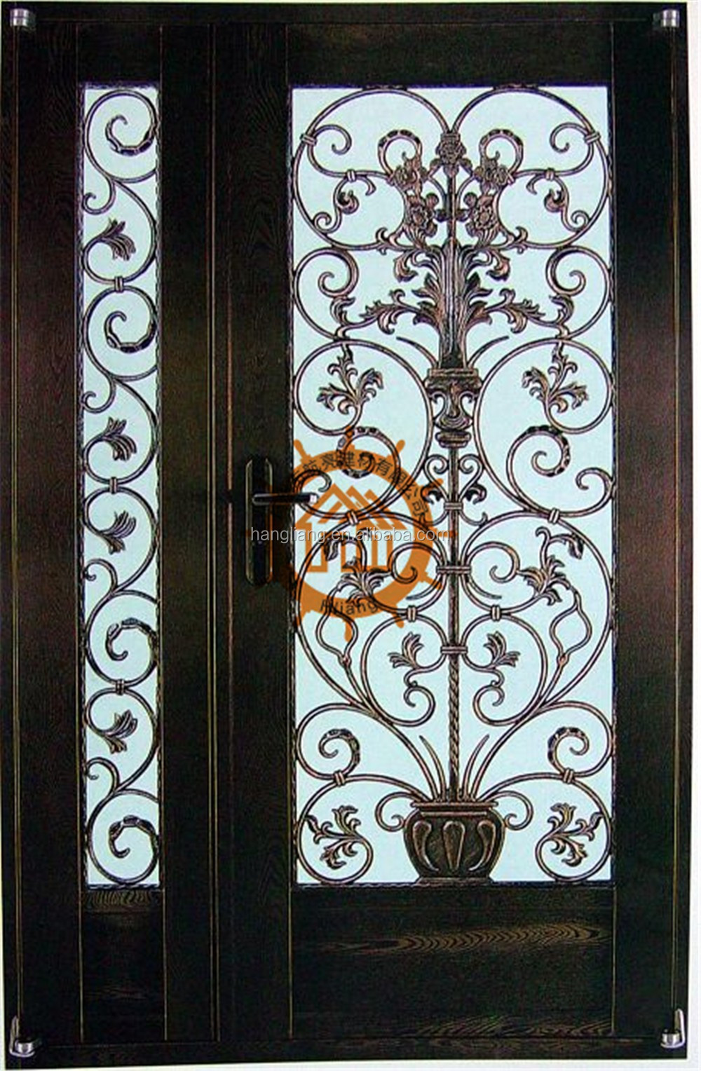 Perfect porte en fer forge exterieur with porte en fer forge exterieur for Porte en fer forge en tunisie