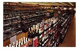 Cheers Liquor Mart Postcard North Circle Drive Colorado Springs Colorado