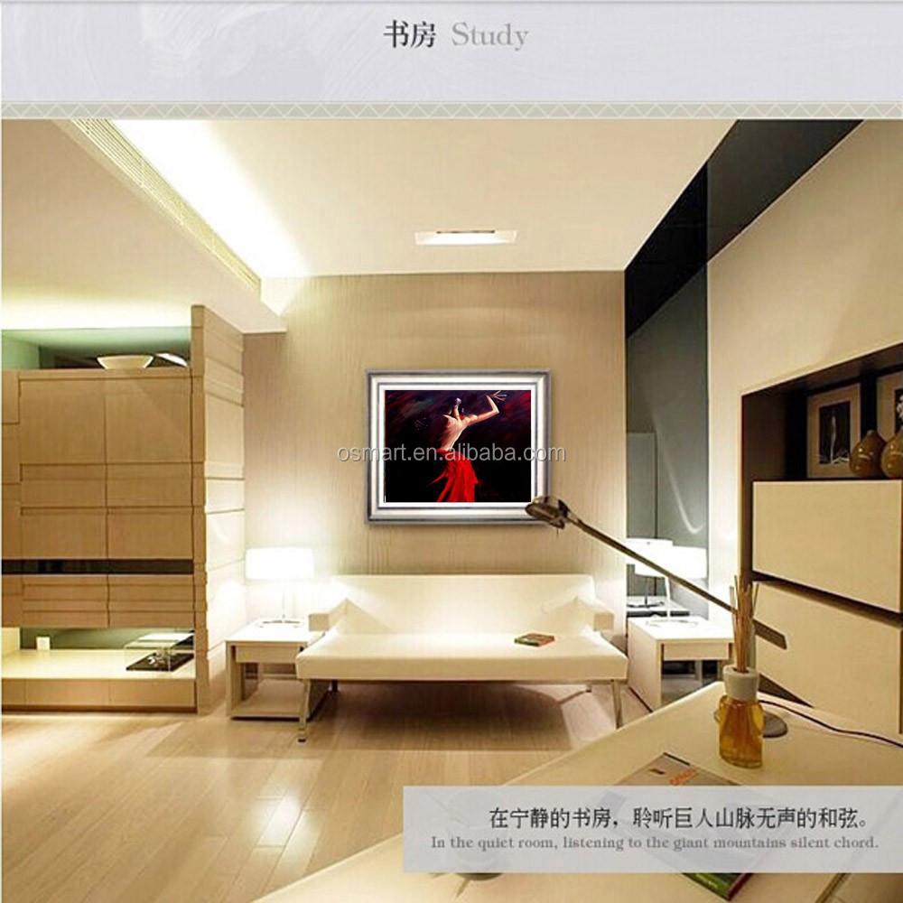 f higkeiten k nstler handgemalte hohe qualit t abstrakte t nzer lgem lde auf leinwand moderne. Black Bedroom Furniture Sets. Home Design Ideas
