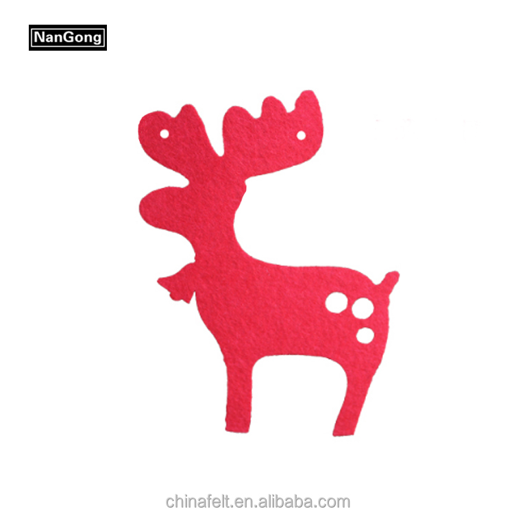 Polyester felt Christmas tree decoration for decorating