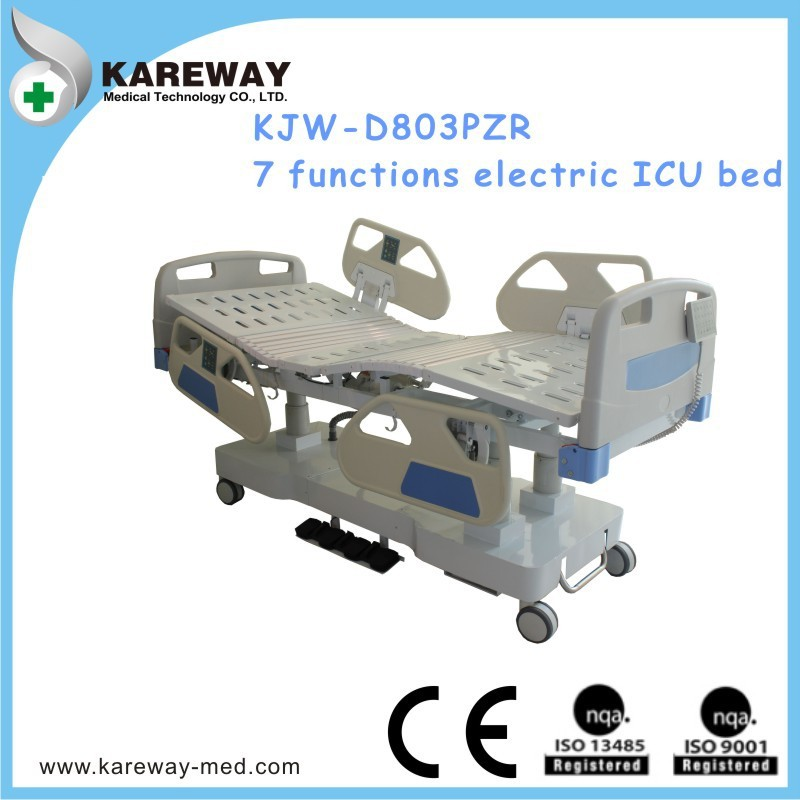 Newest prodcut!8 functions portable Electric ICU Hospital Bed