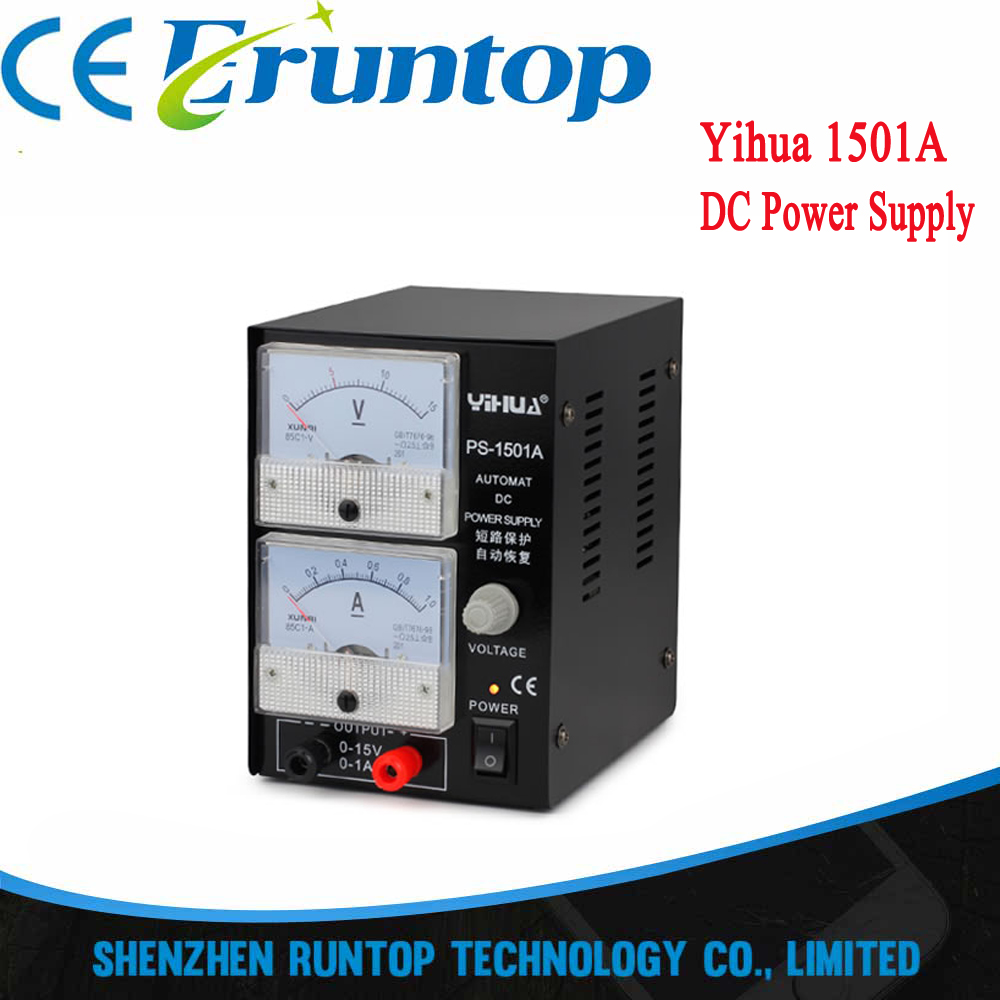 Yihua 1501a 15v 1a Mobile Phone Repair Regulated Adjustable Dc Power ...