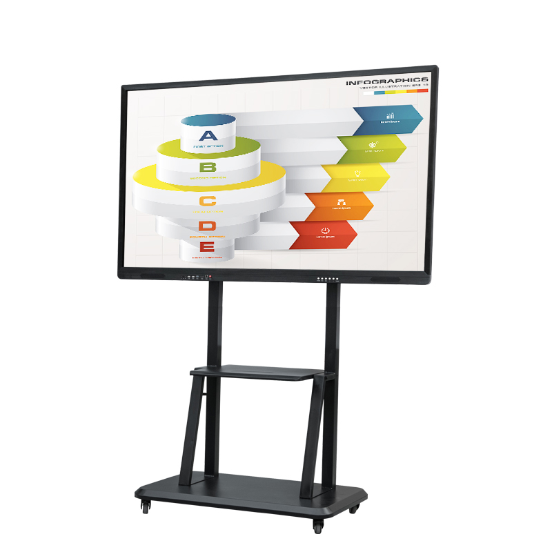 65 inch Onderwijs/Vergadering Touch Alle-in-een Machine Tien-point infrarood touch whiteboard prijs smart board interactive