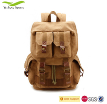 Hot Sale Canvas Digital Camera Bag Multi-function Camera Backpack Manufacturer in China