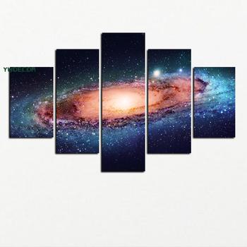 Nature Constellation Series 5 Pcs Wall Art Canvas Print Painting ...