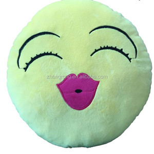pillow factory in china cheap baby emoji pillow newly on sale