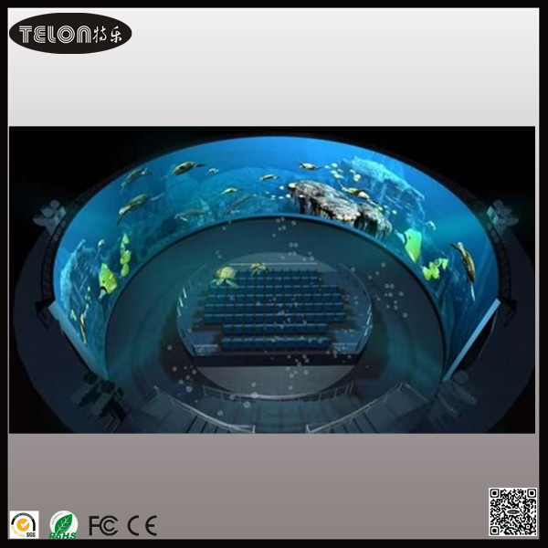 180 Degree Flight Simulator Screen Curved Projection