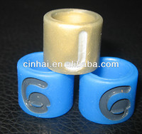 the cheapest silicone rubber finger ring can be any of customized design