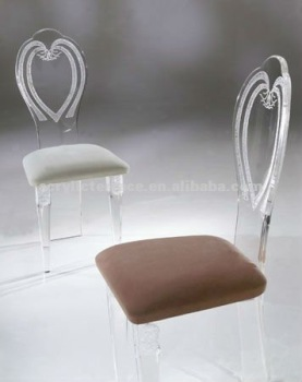 Fantastic Modern Clear Acrylic Dining Chair With Heart Shaped Back View Acrylic Dining Chair With Heart Shaped Back Vanjin Decor Product Details From Shenzhen Spiritservingveterans Wood Chair Design Ideas Spiritservingveteransorg