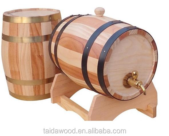 Wooden Beer Keg