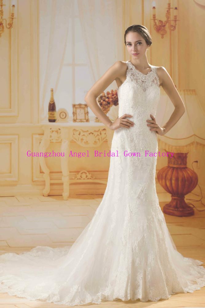 Vestidos de noiva com renda francesa