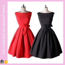 Red and Black Wedding Party Dresses for Women Girls Cocktail Party Dresses