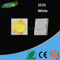 7 Years No Complaint Ultra Bright High Quality Warm White Pure White Cool white High Power 1W 3535 SMD LED Chip Light