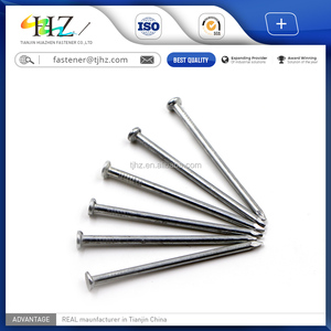 Alibaba website Q195 HDG Polished Common Nail Use In Wood Nail