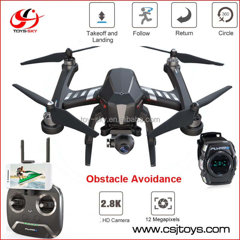 GPS Rc Drone Quadcopter With 4K Camera Controlled By Smart Watch, Swift Auto Obstacle Avoidance and Follow Me Funtion