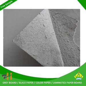 China grey paper mill grey core board with SGS TEST