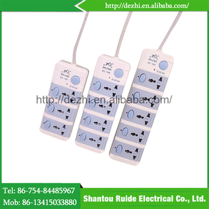 China goods wholesale waterproof socket outlet and switch