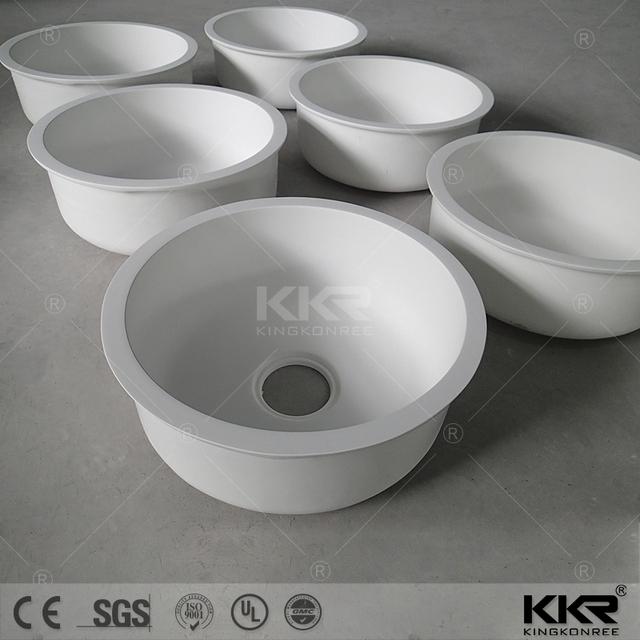 China Round Kitchen Sink White Wholesale 🇨🇳 - Alibaba