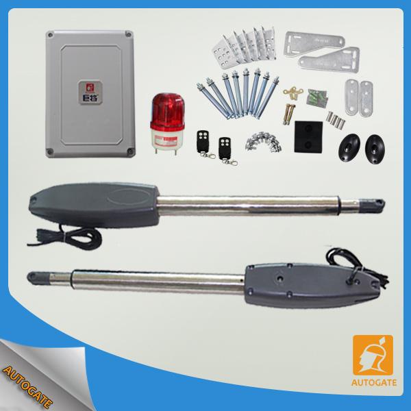 Heavy Duty Solar Gate Motor Kit 24vdc Auto Dual Arms Swing