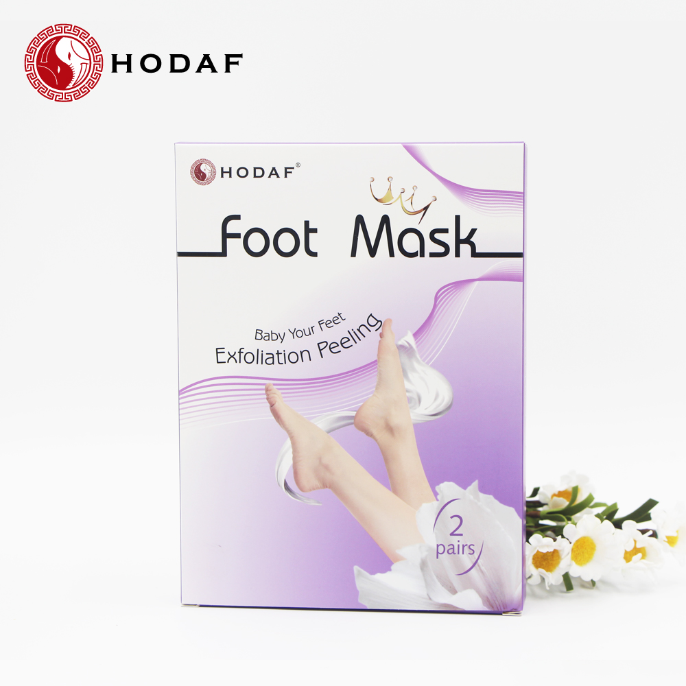 Baby your feet ! Lavender Exfoliating peeling nourishing magic foot mask